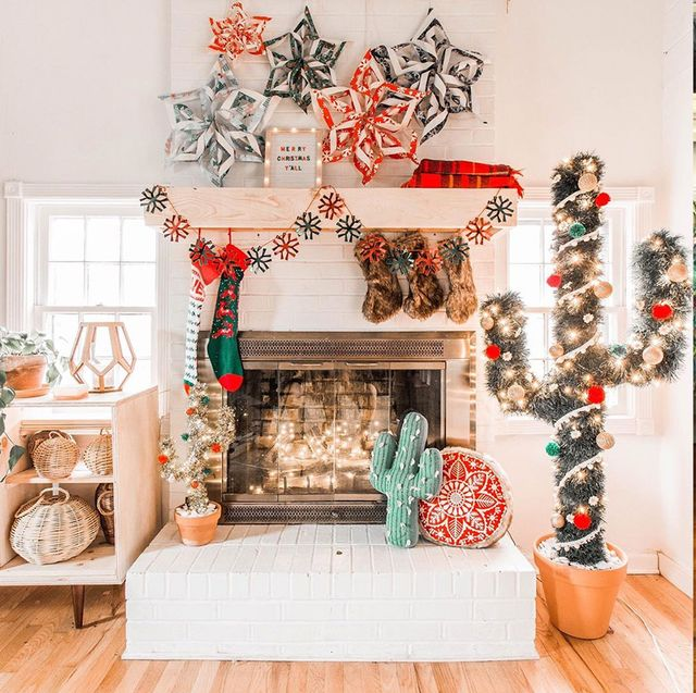 Christmas tree, Christmas decoration, Christmas ornament, Christmas, Tree, Room, Interior design, Interior design, Home, Holiday,