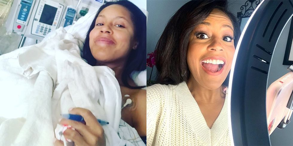 """Sheinelle Jones Says It Was """"Difficult"""" Not to Speak for Weeks After Vocal Cord Surgery"""