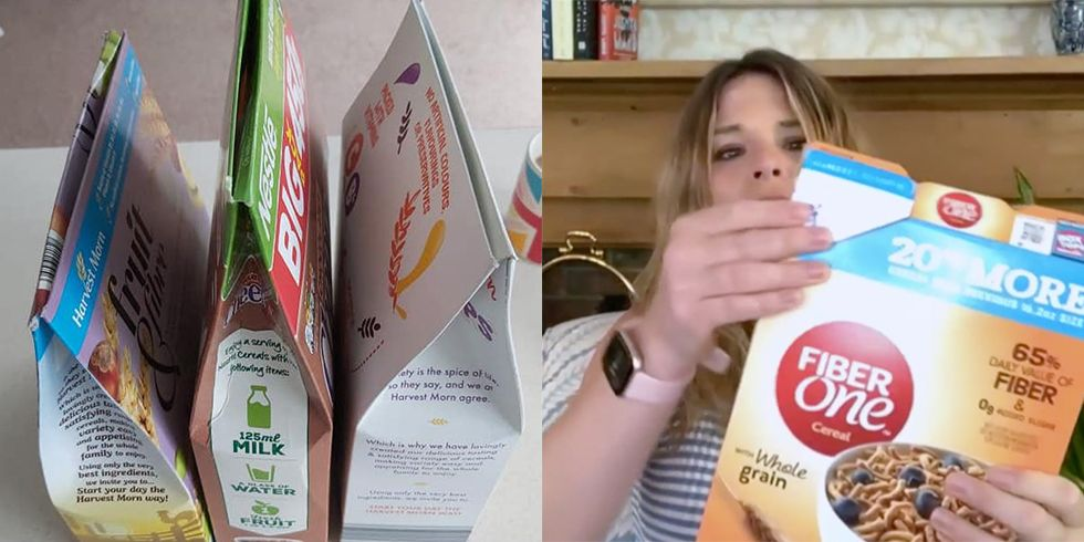 This Mom's Viral Cereal Box Hack Will Forever Change How You Close Them