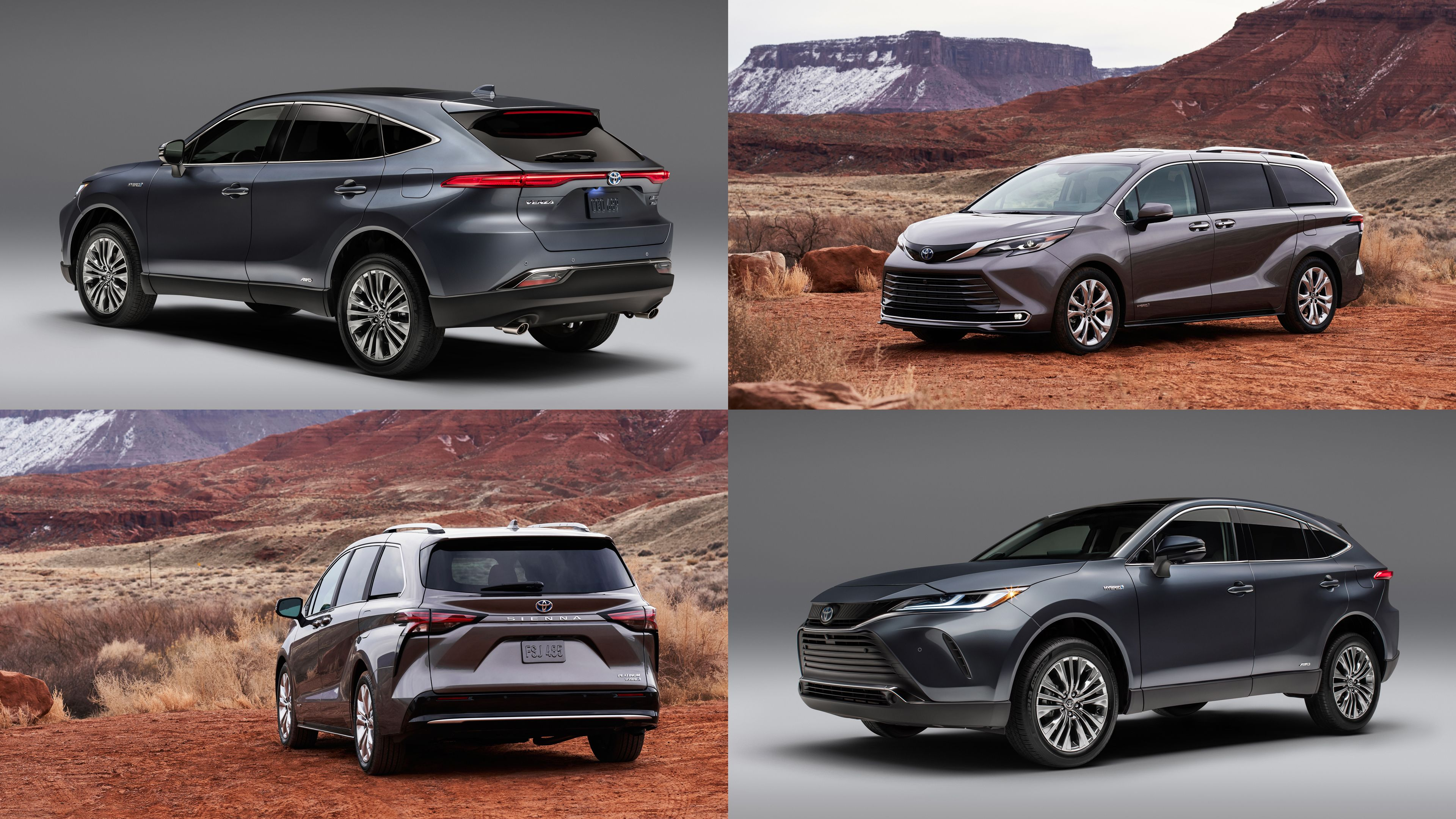 The Toyota Venza Returns For 2021 And Sienna Gets A Redesign