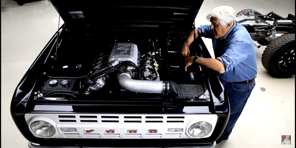 Jay Leno's '68 Ford Bronco Has a 760-hp Shelby GT500 Engine and a Five Speed