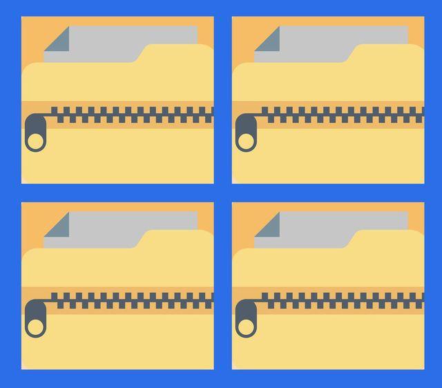zip folders