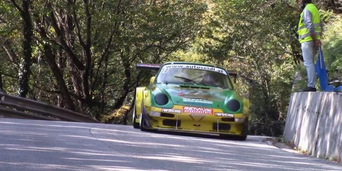 5 Minutes of Hill Climb With an 800-hp Porsche GT2