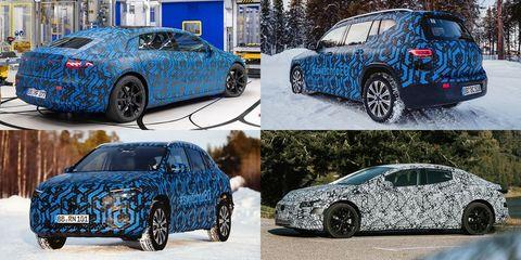 upcoming mercedes benz eq electric sedans, suvs