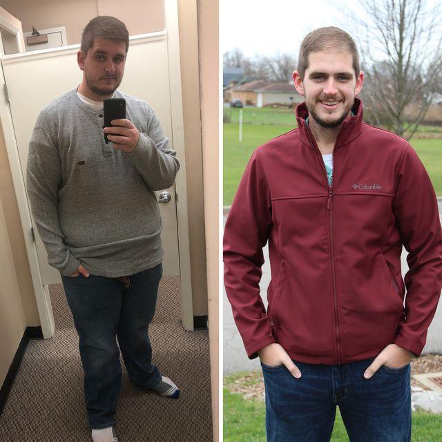 daniel hertel weight loss running
