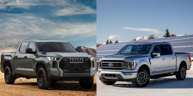 2022 toyota tundra iforce max vs ford f150 powerboost