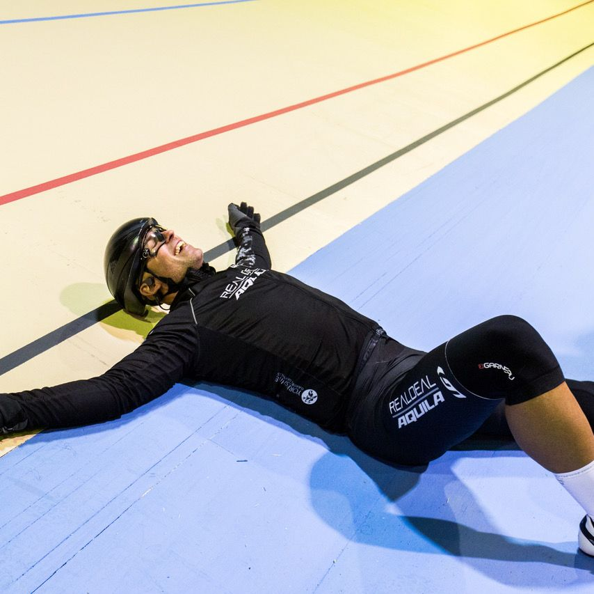 Canadian Cyclist Rides 5,249 Laps in 24 Hours to Help Save Velodrome