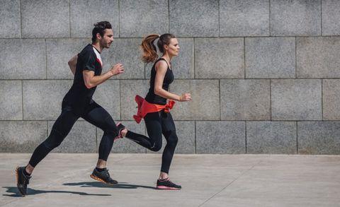 ademhaling, lekker lopen, gespannen houding, ontspannen hardlopen