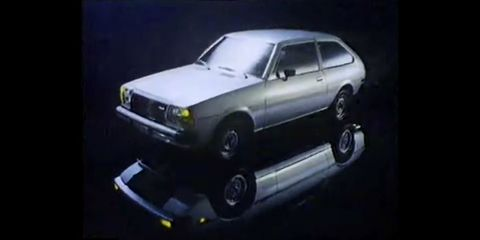 1979 Mazda GLC TV ad