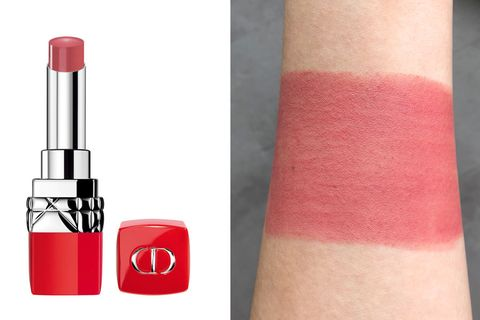 Red, Pink, Cosmetics, Lipstick, Lip, Beauty, Lip gloss, Orange, Material property, Tints and shades,