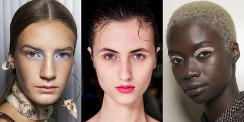 b31734700a The Best Makeup Looks From Spring 2019 Runways - Backstage Beauty ...