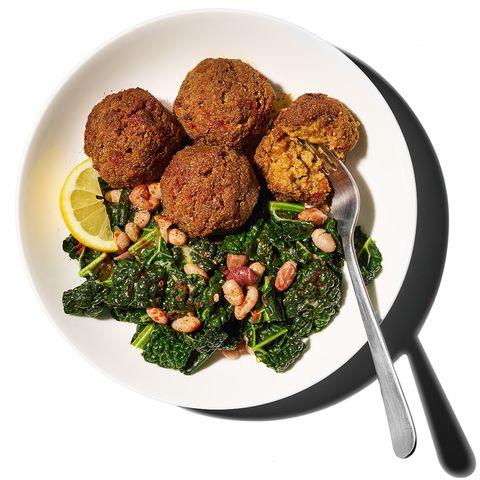 Dish, Food, Cuisine, Meatball, Ingredient, Falafel, Produce, Vegetarian food, Patty, Rissole,