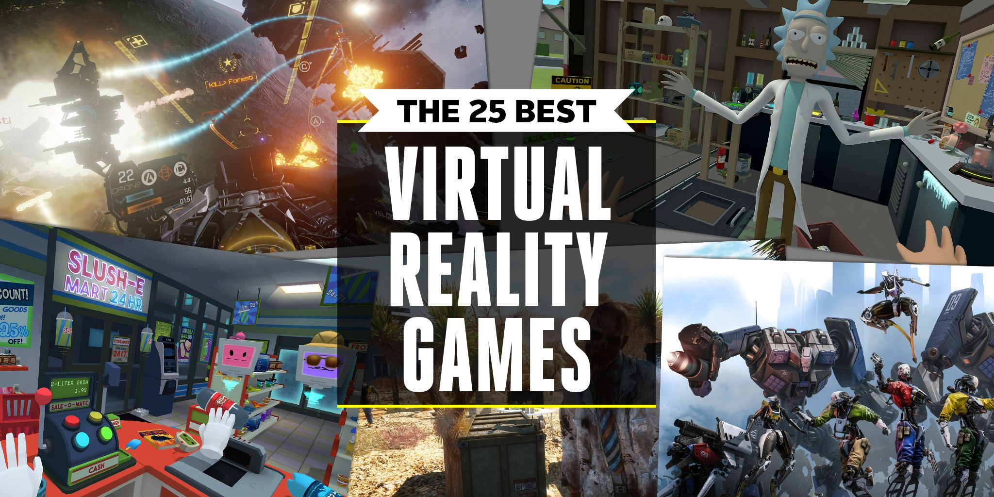 25 Best VR Games 2019 | PC, PS4 Virtual Reality Game Reviews