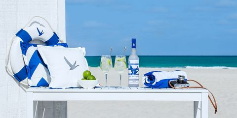 Blue, Water, Azure, Vacation, Ocean, Table, Sea, Furniture,