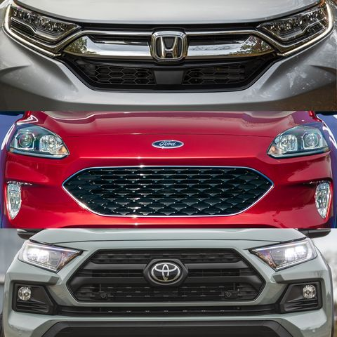 2020 Ford Escape Vs Honda Cr V And Toyota Rav4 How Does The All