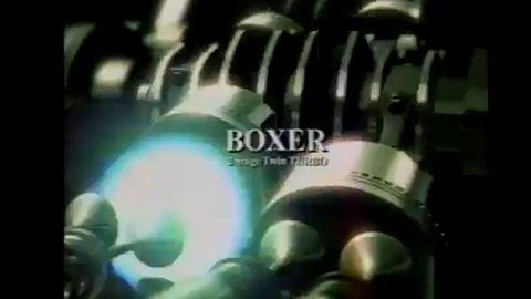 1999 Subaru B4 TV commercial