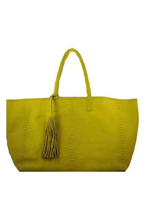 Yellow, Bag, Fashion accessory, Style, Shoulder bag, Luggage and bags, Handbag, Leather, Strap, Fashion design,