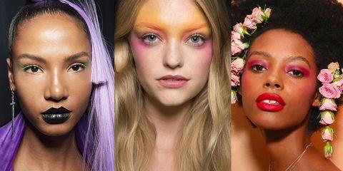 Face, Hair, Eyebrow, Lip, Nose, Skin, Cheek, Beauty, Head, Purple,