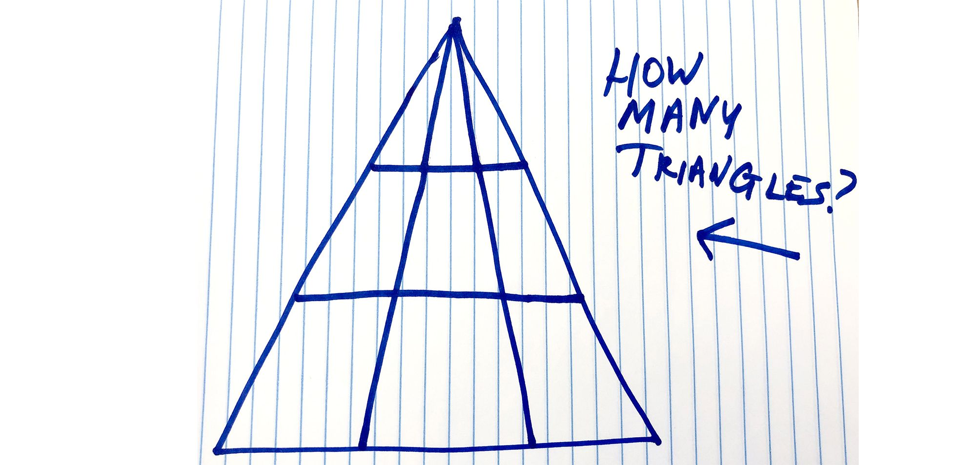 How Many Triangles Do You See Viral Math Problem Triangle