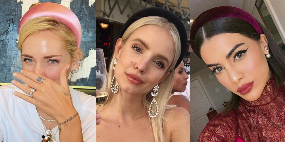 Padded Headbands Are Summer 2019's Answer to the Struggle Bun