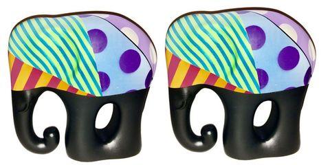 Design, Pattern, Elephant,