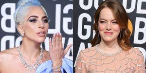 2019金球獎, Lady Gaga, 一個巨星的誕生, 吳珊卓, 女神卡卡, 真寵, 艾瑪史東, 追殺夏娃, 金球獎, 金球獎主持人, 金球獎亞裔