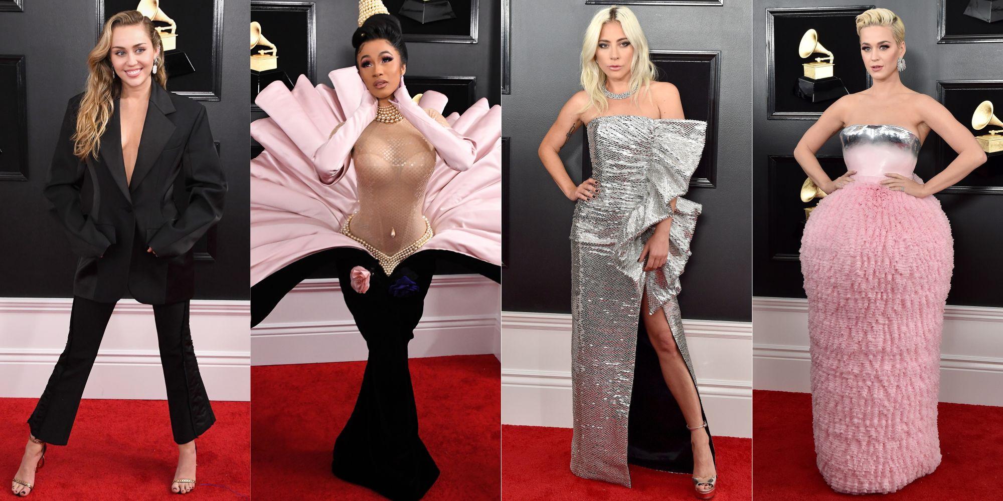 2019葛萊美紅毯造型「怪美的」!女神卡卡、凱蒂佩芮、Cardi B…女星搶鏡背後都有故事啊