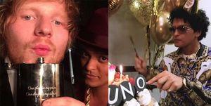 火星人布魯諾,紅髮艾德,Bruno Mars,Ed Sheeran