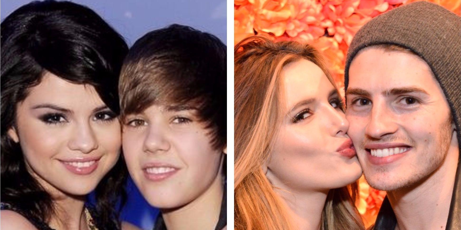Selena Gomez and Justin Bieber, Bella Thorne and Gregg Sulkin