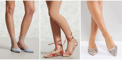 d7e2fe755 25 Best Prom Flats 2018 - Cute and Comfy Flats to Wear On Prom Night