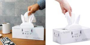 【ELLE怪奇物語】這隻「會說話的兔子」讓你每抽一張衛生紙就感動一次,過敏人必備!