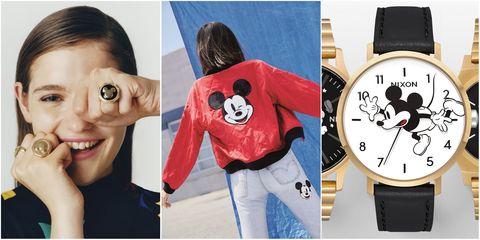 Watch, Outerwear, Fashion accessory, Wrist, Ear, Jacket,