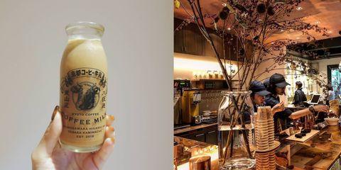 牛奶罐裝的咖啡太可愛!日本雜貨店「日東堂」推出傳統「牛奶咖啡」,品嘗屬於京都的味道