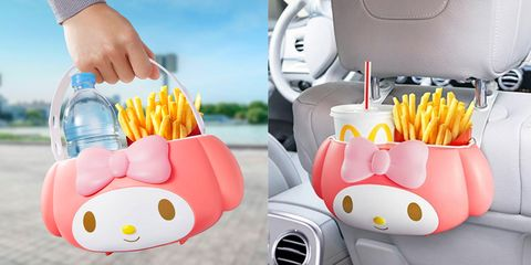美樂蒂即將攻佔日本麥當勞!超可愛的「飲品薯條筒」,還可以掛車上、方便餵食!