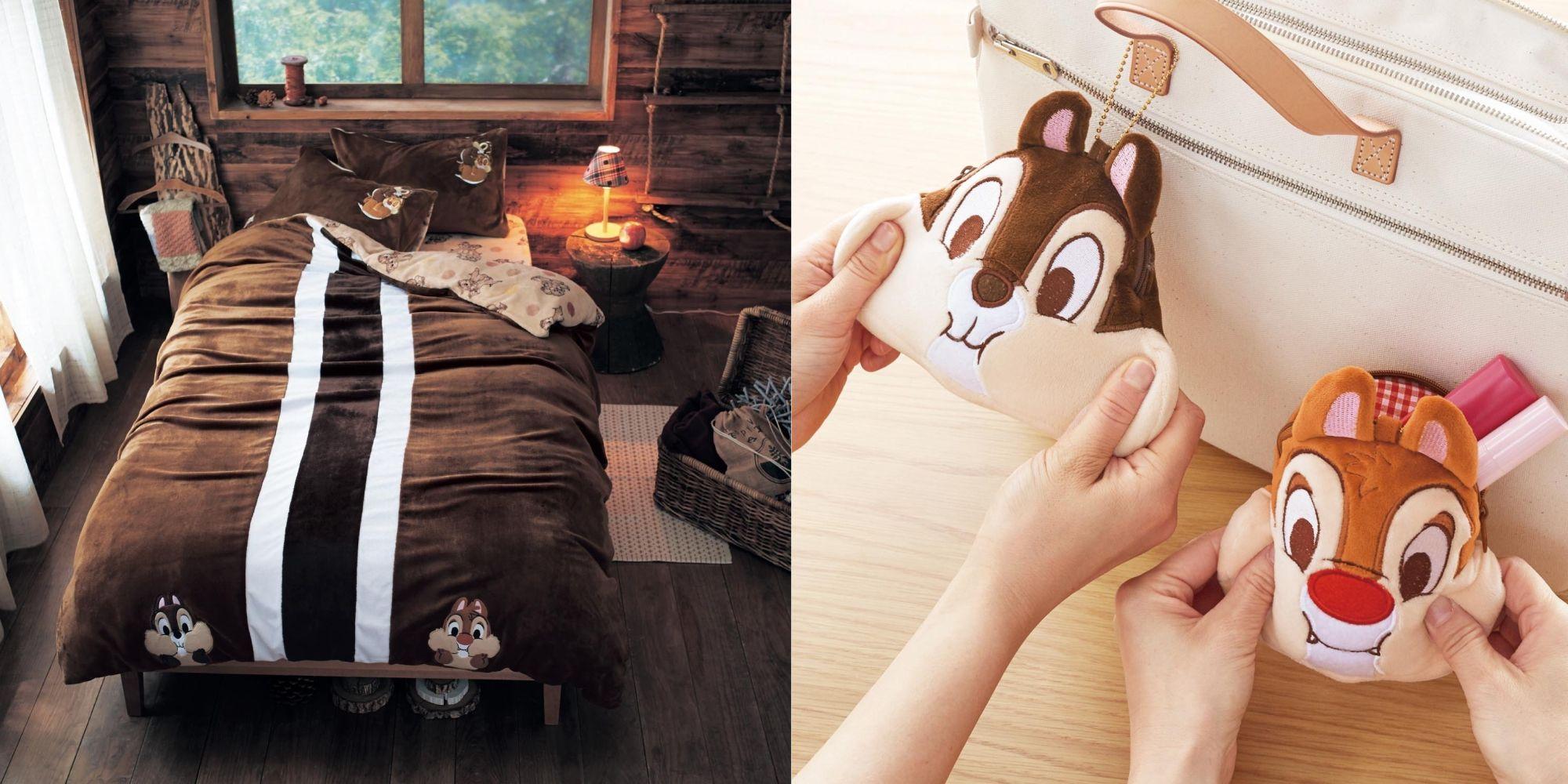 「奇奇與蒂蒂」的家居設計來襲!日本 BELLE MAISON 推出床單、枕頭、睡衣... 腦粉慎入!