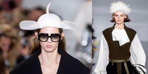 【巴黎時裝週】小飛象還是米老鼠? Loewe 秀上帽子長耳朵,意外成為迪士尼控話題的原因是⋯