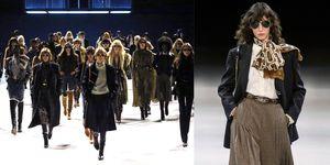 【巴黎時裝週】CELINE 又有了從前的樣子?Hedi Slimane 致敬70年代的 Céline,這件「格紋及膝裙」要爆紅了!