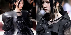 【巴黎時裝週】「少女兵」身上是手榴彈、鎧甲、防彈衣...... �Comme des Garçons 的大秀其實是一場戰爭啊!