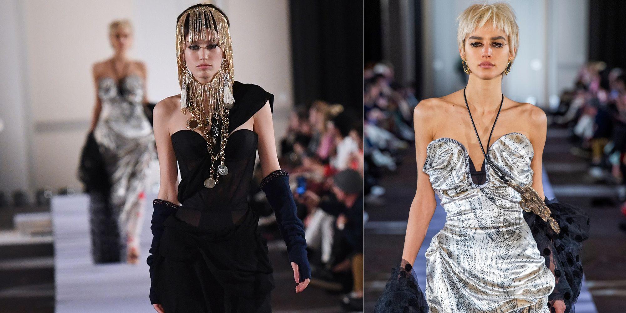 【巴黎時裝週】Vivienne Westwood 的馬甲禮服太性感!超經典「小行星」學生襪又回歸了!