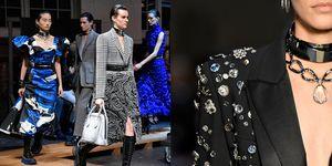 【巴黎時裝週】Alexander McQueen 僅此一件「掛滿耳環」的長裙,原來是這位已故傳奇設計師最初的夢!