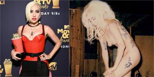Lady Gaga 發裸照
