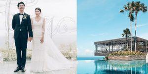 賈靜雯和修杰楷的婚禮地點曝光!徐若瑄和劉詩詩也都搶在峇里島的這個 Villa 結婚!