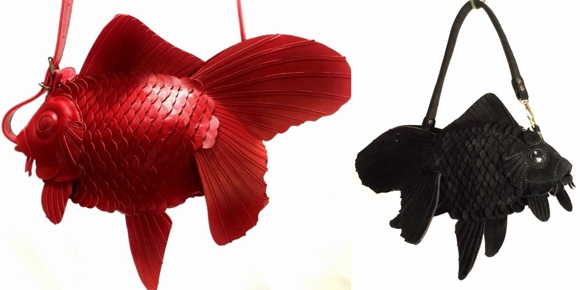 【ELLE怪奇物語】日本人對金魚的狂熱真的很誇張!這款包包根本一隻「活生生的金魚」啊!