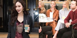 【紐約時裝週】和Jessica鄭秀妍邊喝咖啡邊看秀!Ralph Lauren秀場就是咖啡廳,這紐約名媛的奢華生活啊