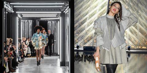 【巴黎時裝週】Louis Vuitton 繞羅浮宮一圈的發光步道太夢幻!舒淇第一次玩「髒辮造型」好嘻哈!