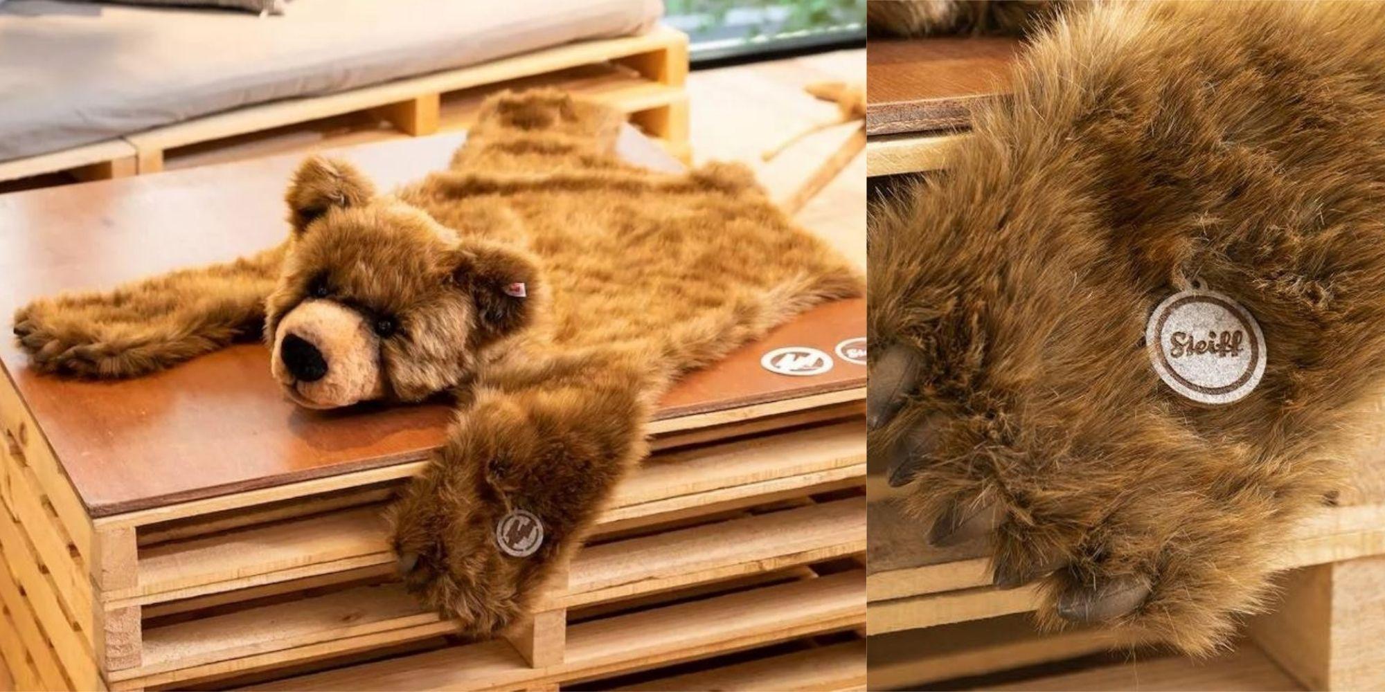 【ELLE 怪奇物語】潮流教父藤原浩把 Steiff 泰迪熊做成「熊皮地毯」... 這個設計太狠心了!