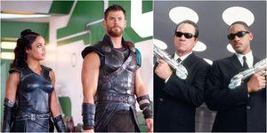 Thor: Ragnarok, Men In Black