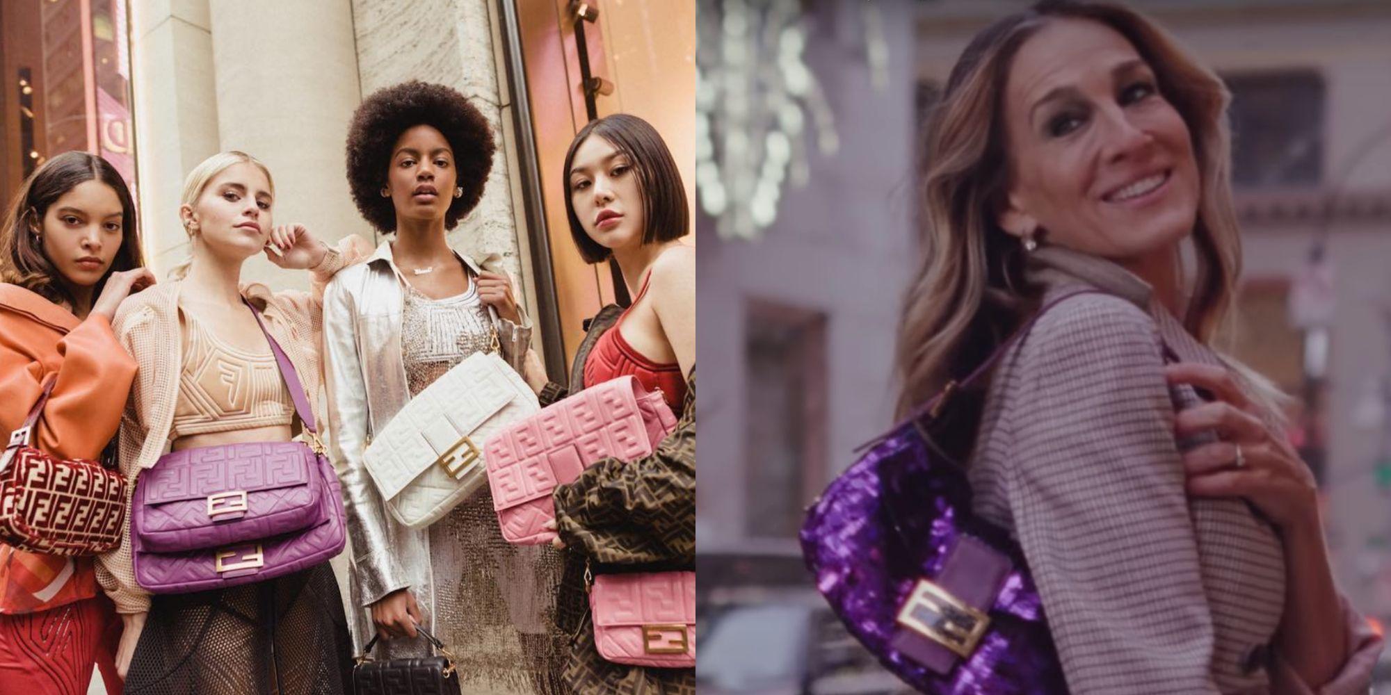 【紐約時裝週】FENDI 就為這顆包包辦派對!重現《慾望城市》經典橋段還請出凱莉布雷蕭用一句話打趴女星部落客