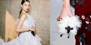 【紐約時裝週】Oscar de la Renta 開課教我們當名媛!毛絨絨禮服、綿羊手拿包優雅同時又好可愛