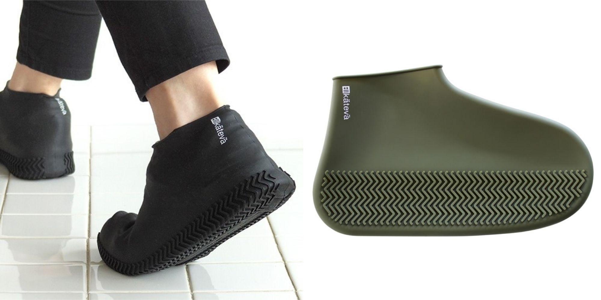 【ELLE怪奇物語】保護好你最愛的那雙鞋!日本雜貨店推出「防水鞋套」,奇怪又實用的日本小物+1!